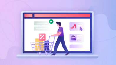 An Image Representing The E-Commerce Technology