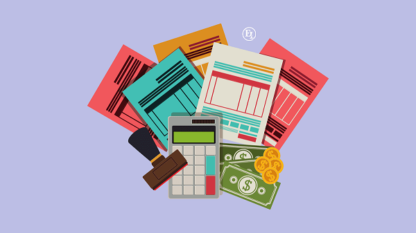 An image representing Book Keeping services in the image of Books and Calculator